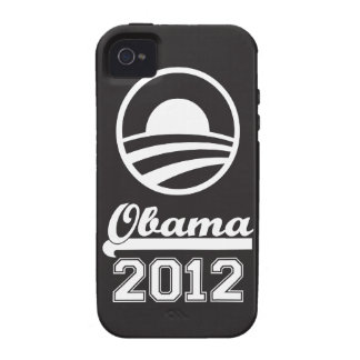 OBAMA 2012 iPhone 4 Tough Case-Mate (black) iPhone 4/4S Covers