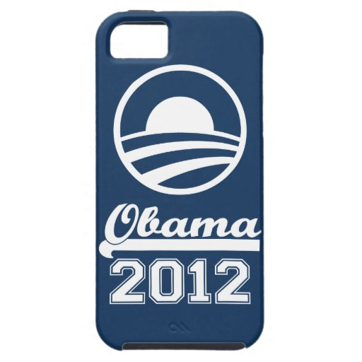 OBAMA 2012 iPhone 5 Tough Case-Mate (navy) iPhone 5 Cases