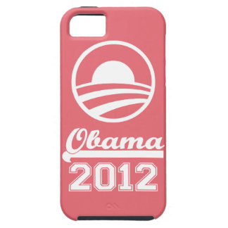 OBAMA 2012 iPhone 5 Tough Case-Mate (pink) iPhone 5 Covers