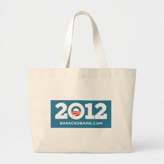 Obama 2012 jumbo tote bag