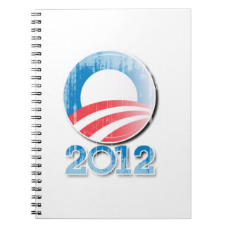 OBAMA 2012 NOTE BOOKS