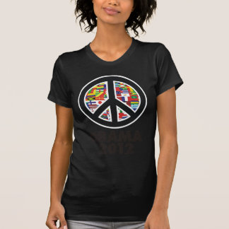 obama 2012 peace sign T-Shirt