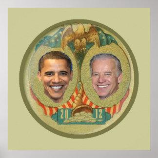 Obama 2012 POSTER Print