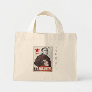 Obama 2012 propaganda poster bag