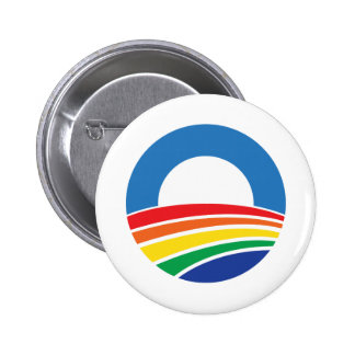 Obama 2012 Support for Gay Marriage Button