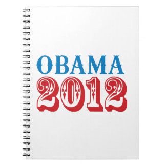 OBAMA 2012 T-SHIRT -.png Note Book