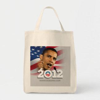 Obama 2012 grocery tote bag