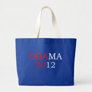 Obama 2012 tote jumbo tote bag