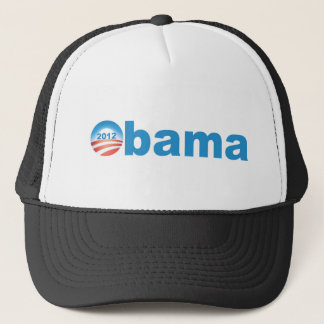 Obama 2012  v2 trucker hat