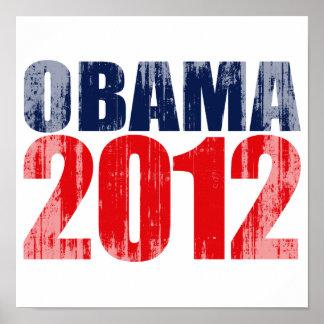 OBAMA 2012 Vintage.png Print