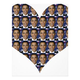 Obama 21.5 Cm X 28 Cm Flyer