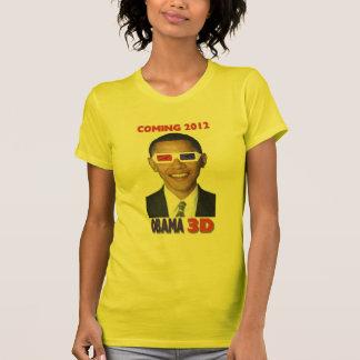 Obama 3D T-shirt - Coming 2012