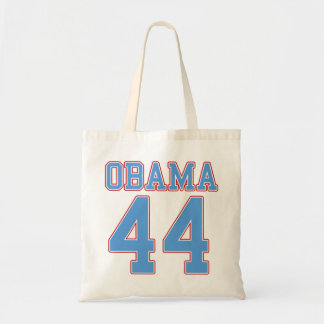 Obama - 44 budget tote bag