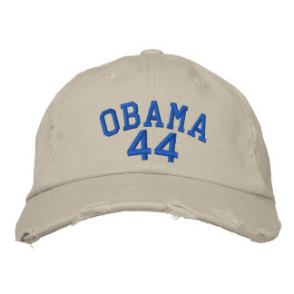 OBAMA 44 EMBROIDERED BASEBALL CAP