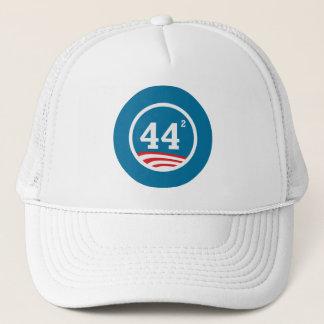Obama - 44 Squared Trucker Hat