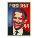 Obama - 44th President inauguration Posters