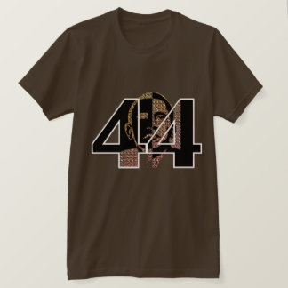 Obama 44th President Jersey T-Shirt