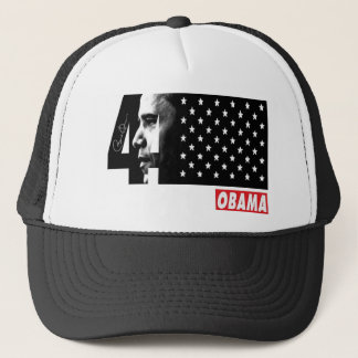 OBAMA 44TH President Signature Editions Trucker Hat