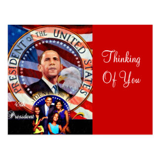 Obama,45th President of The United States_ Post Card