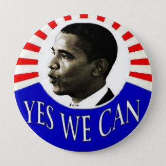 Obama 4-inch Yes We Can Button