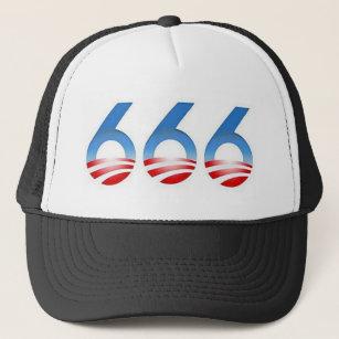 Obama 666 trucker hat