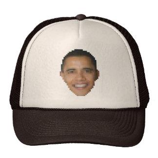 Obama (8-bit) trucker hat