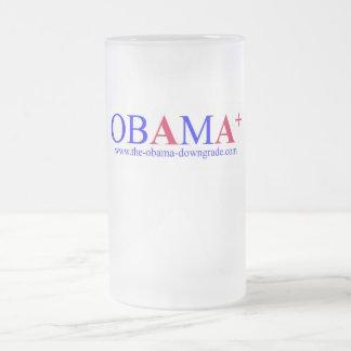Obama AA+ Downgrade Beer Mug