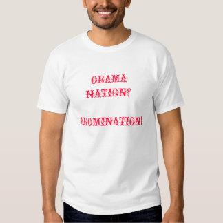 OBAMA ABOMINATION T SHIRT