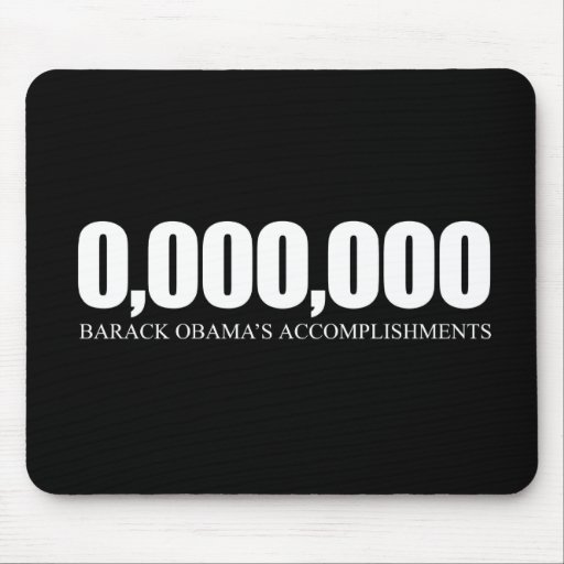 Obama Accomplishments Mouse Pad