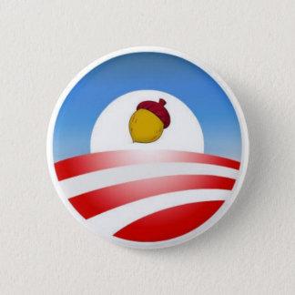 Obama Acorn 6 Cm Round Badge