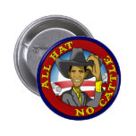Obama All Hat No Cattle Pins