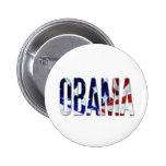 Obama America Flag Buttons