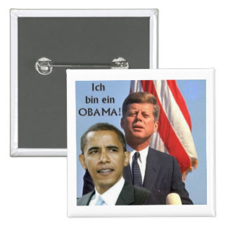 Obama and JFK button