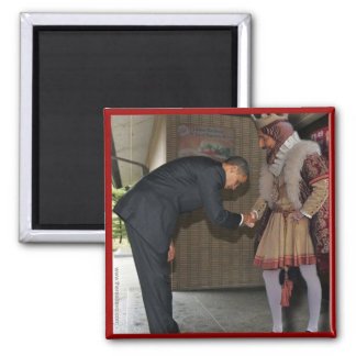 Obama and the King Square Magnet