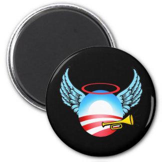 Obama Angel 6 Cm Round Magnet