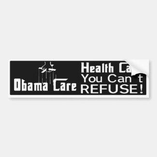 Obama Anti Heath Care Bumper Bumper Sticker