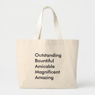 Obama Canvas Bag