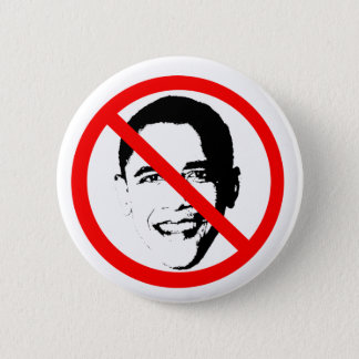 Obama Barack No 6 Cm Round Badge