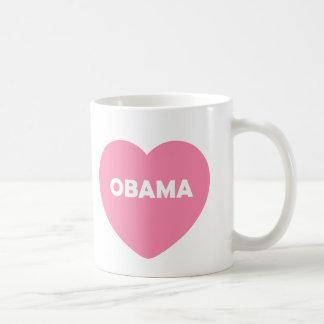 Obama Basic White Mug