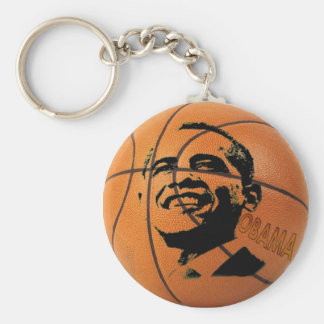 Obama Basketball Keychain