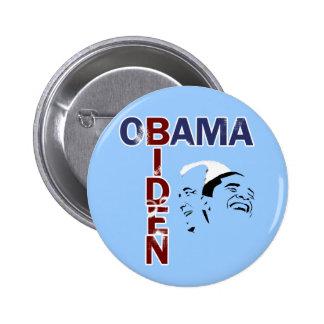 Obama & Biden '08 6 Cm Round Badge