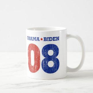 Obama Biden '08 Basic White Mug