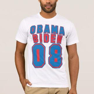 Obama Biden 08, BLUE & Red T-Shirt