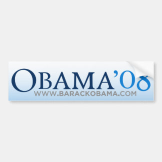 Obama Biden 08 Bumper Sticker