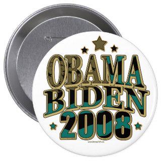 Obama Biden '08 Ticket 10 Cm Round Badge