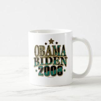 Obama Biden '08 Ticket Coffee Mugs