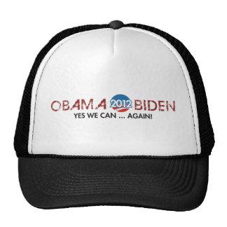 obama biden 2012 again trucker hats