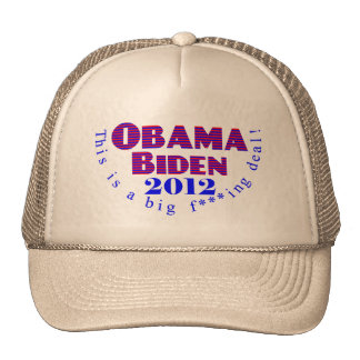 Obama Biden 2012 BFD Hat