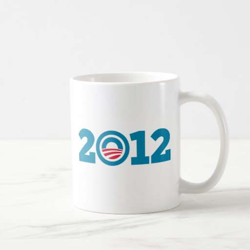Obama / Biden 2012 (Blue) Coffee Mug
