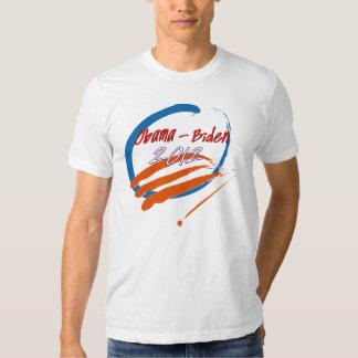 Obama- Biden 2012 brush strokes Shirts